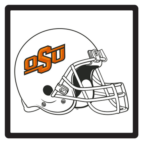 Oklahoma State HitchCover (DOMED OSU HELMET HITCH (21607))