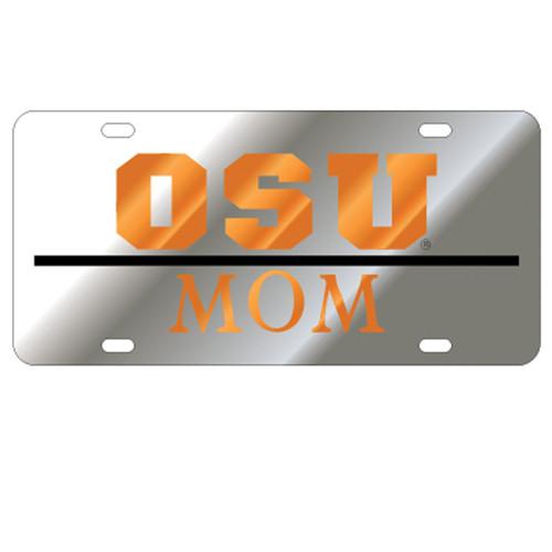 Oklahoma State TAG (LASER SIL/ORG OSU MOM (21592))
