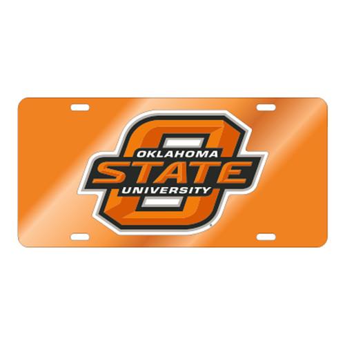 Oklahoma State TAG (ORG MIR/REF WHT O STATE TAG (21503))