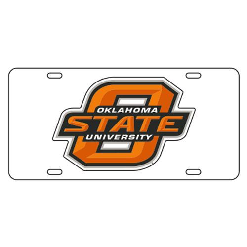 Oklahoma State TAG (WHT/REF ORG O STATE TAG (21501))