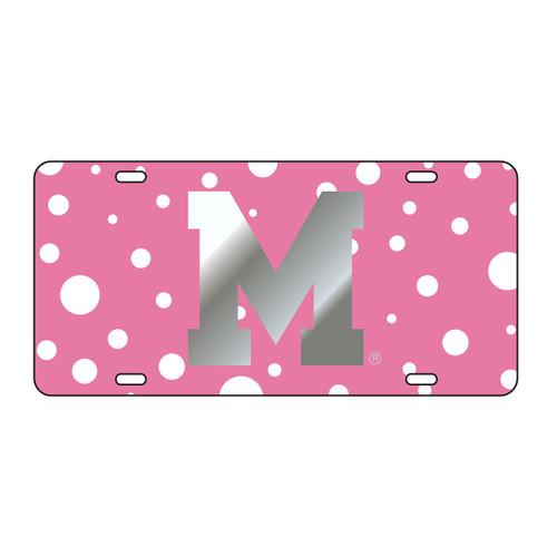 Memphis Tag (LASER PINK POLKA DOT M TAG (20882))