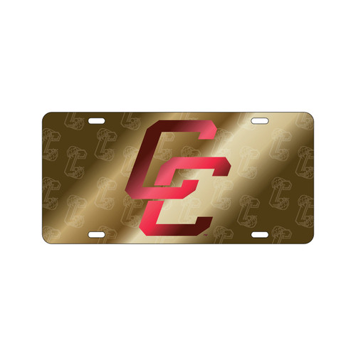 Charleston Cougars Tag (LASER C COUGAR SATIN SYMBOL TA (20642))