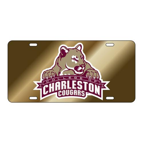 Charleston Cougars Tag (GOLD/REF C COUGAR TAG (20602))