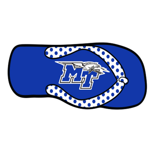 Middle Tennessee HitchCover (MTSU FLIP FLOP HITCH COVER (20573))