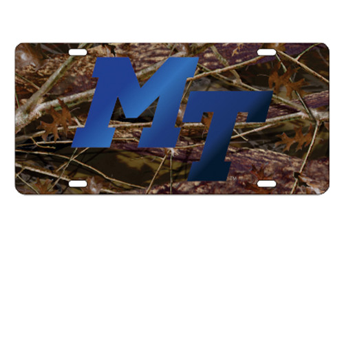 Middle Tennessee TAG (LASER CAMO MT TAG (20556))