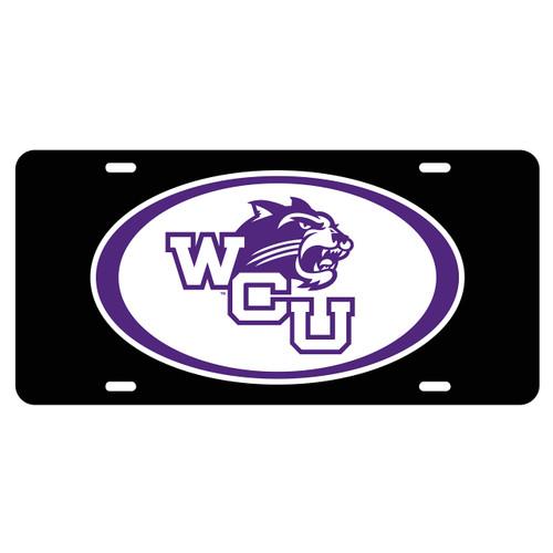 Western Carolina Tag (BLK/REF OVAL WCU CAT TAG (20210))