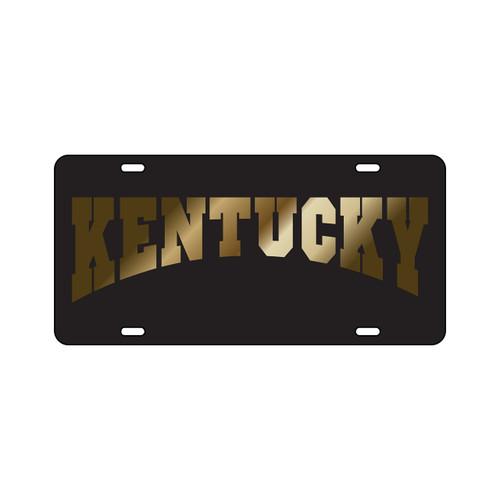 Kentucky TAG (LASER BLACK/GOLD KENTUCKY (20053))