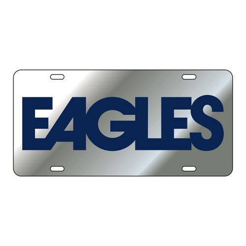 Georgia Southern Eagles Tag (LASER SIL/BLU EAGLES (19566))