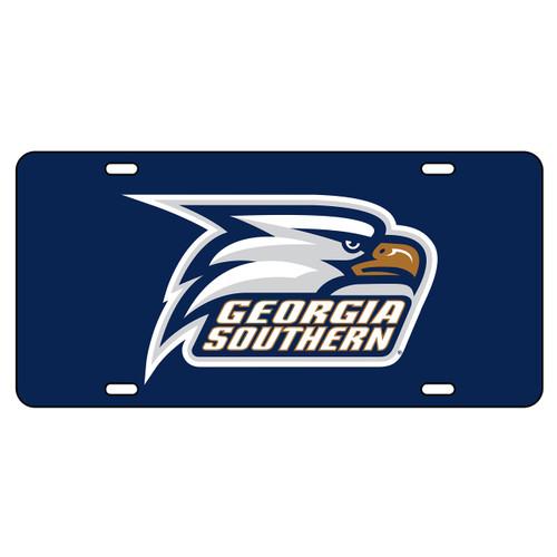 Georgia Southern Eagles Tag (BLU/REF GA SOU NEW LOGO TAG (19503))