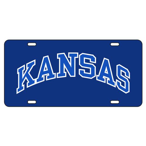 Kansas Tag (BLUE REF KANSAS TAG (19047))