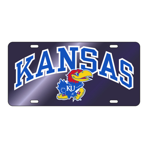 Kansas Tag (BLU MIR/REF KANSAS JAYHAWK TAG (19013))