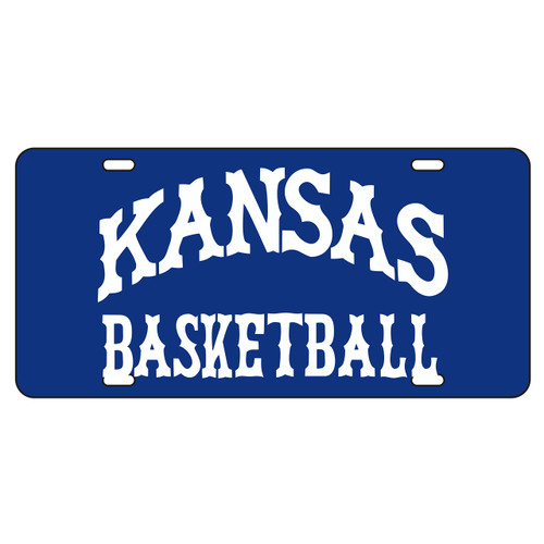 Kansas Tag (BLUE REF KANSAS BASKETBALL TAG (19031))