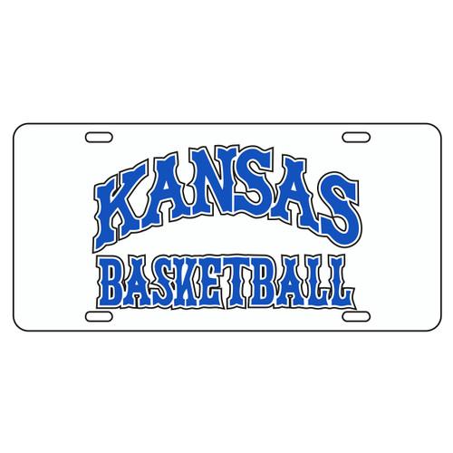 Kansas Tag (WHITE REFL KAS BASKETBALL TAG (19025))