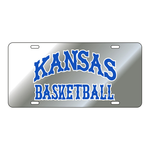 Kansas Tag (SILVER REF KAS BASKETBALL TAG (19027))