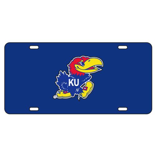 Kansas Tag (BLUE REFL JAYHAWK TAG (19007))