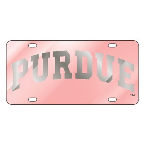 Purdue TAG (LASER PINK/SIL PURDUE (18569))