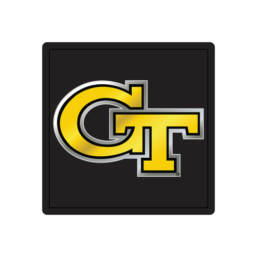 Georgia Tech Hitch Cover (MIR DOMED GT SQUARE HITCH (18180))