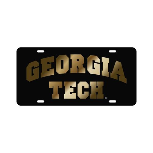 Georgia Tech Tag (LASER BLACK GOLD GA TECH (18021))