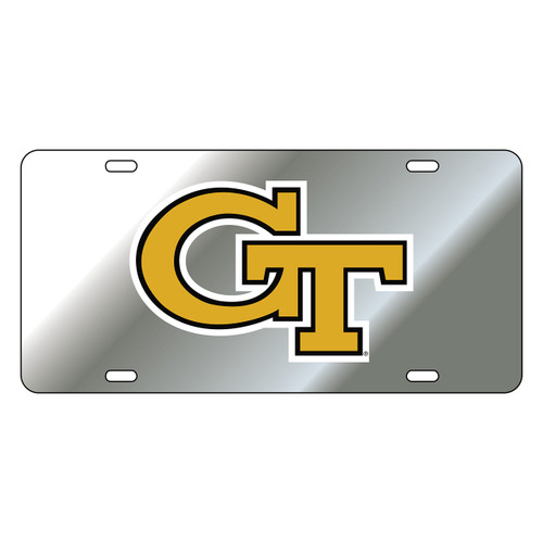 Georgia Tech Tag (SILVER REFL GT TAG (18009))