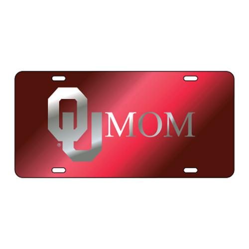 Oklahoma TAG (LASER RED/SIL OU MOM (17533))