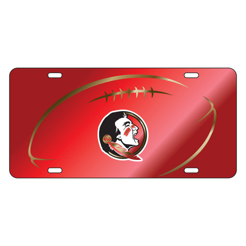 Florida State Seminoles Tag (LASER RED SEMINOLE FB GRIP TAG (17232))