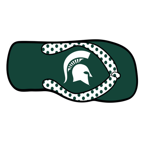 Michigan State Hitch Cover (SPARTAN FLIP FLOP HITCH COVER (16612))