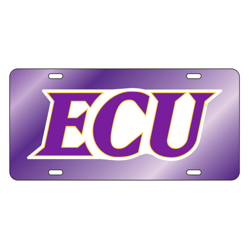 East Carolina Pirates Tag (PUR/REF ECU TAG (16012))