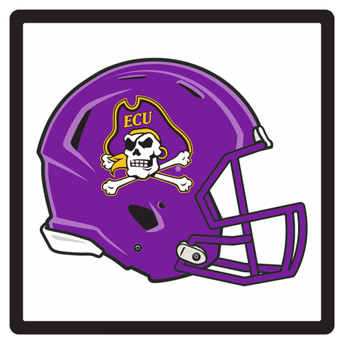 East Carolina Pirates Hitch Cover (DOMED ECU HELMET HITCH (16093))