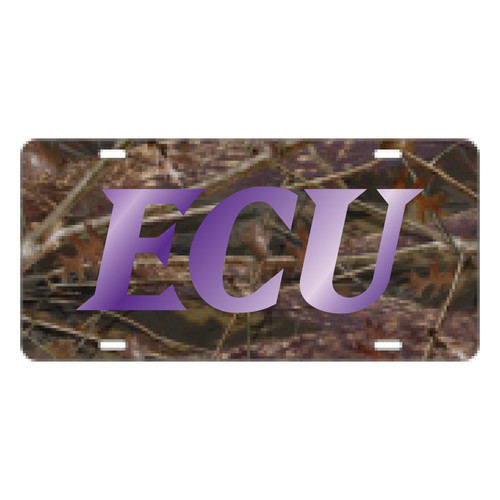 East Carolina Pirates Tag (LASER CAMO ECU TAG (16077))