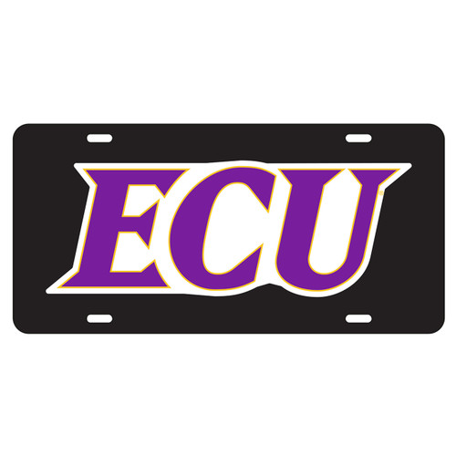 East Carolina Pirates Tag (BLK/REF ECU TAG (16002))