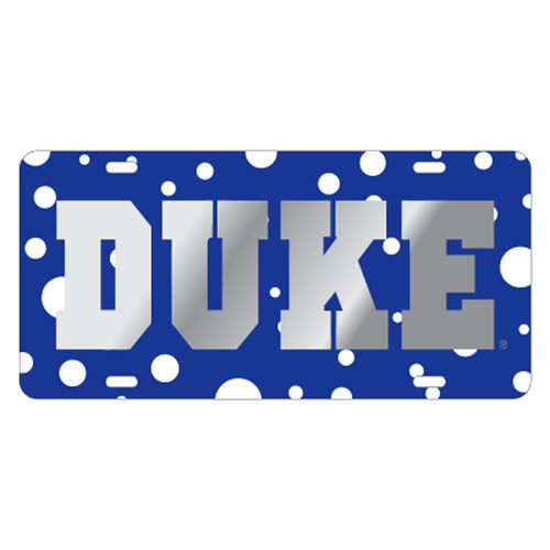 Duke Blue Devils TAG (LASER POLKA DOT DUKE TAG (15250))