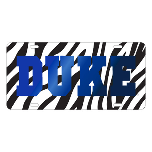 Duke University Tags (LASER ZEBRA DUKE TAG (15251))
