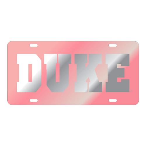 Duke Blue Devils TAG (LASER PINK/SIL DUKE TAG (15135))