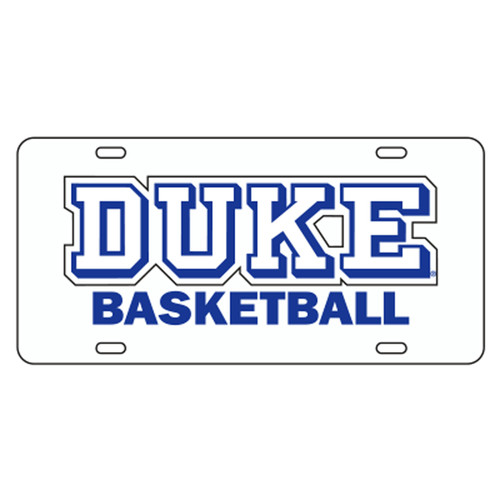 Duke Blue Devils TAG (WHT/REF DUKE BASKETBALL TAG (15061))
