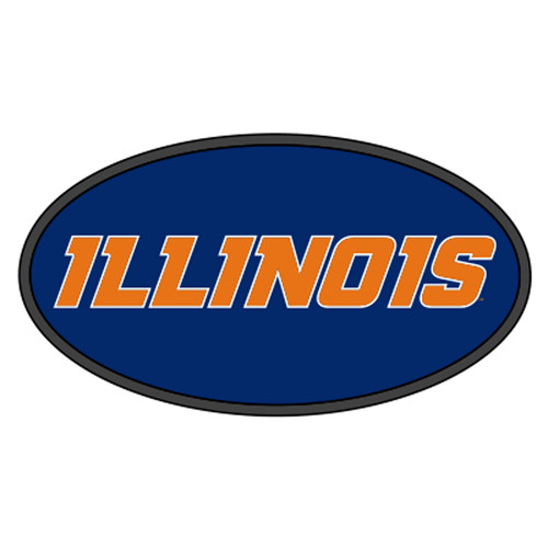 Illinois HitchCover (DOMED ILLINOIS HITCH COVER (14541))