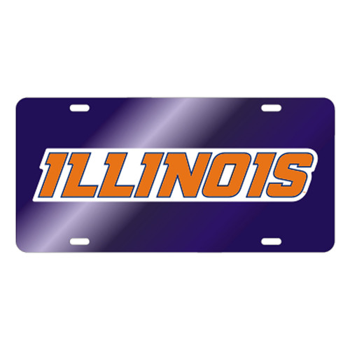 Illinois TAG (BLU/REF ILLINOIS TAG (14503))