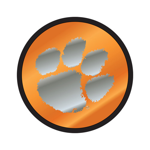 Clemson Tigers Hitch Cover (MIR DOMED CLE ROUND HITCH (14244))