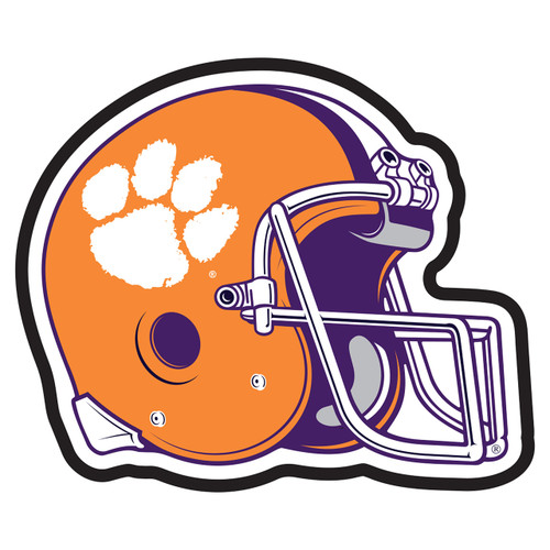 Clemson Tigers Hitch Cover (DOMED CLE HELMET HITCH (14159))