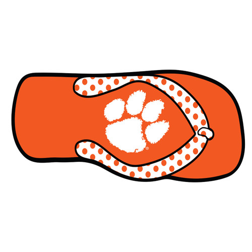 Clemson Tigers Hitch Cover (CLE FLIP FLOP HITCH COVER (14151))