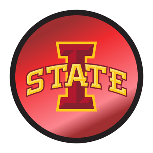 Iowa State HitchCover (I-STATE ROUND HITCH COVER (13597))