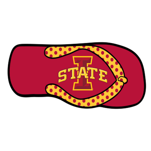 Iowa State HitchCover (I-STATE FLIP FLOP HITCH COVER (13595))