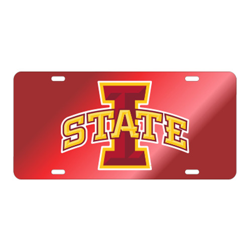 Iowa State TAG (RED/REF I-STATE TAG (13564))
