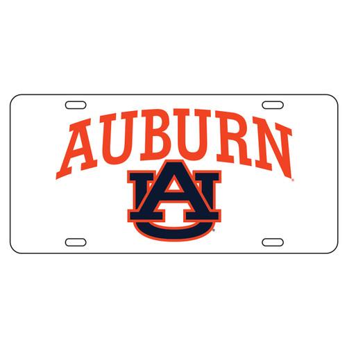 Auburn Tigers TAG (WHT/REF ORG AUBURN AU TAG (12019))