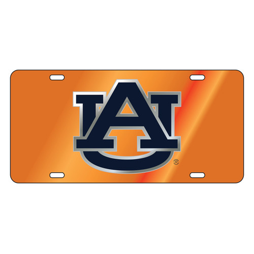 Auburn Tigers TAG (LASER ORG/SIL/BLU AU (12038))