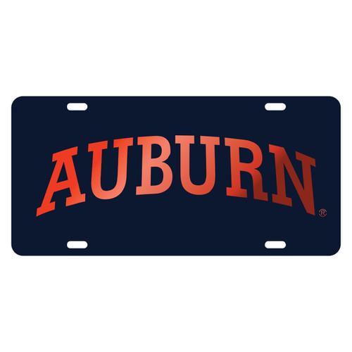 Auburn Tigers TAG (LASER BLU/ORG ARCH AUBURN (12050))