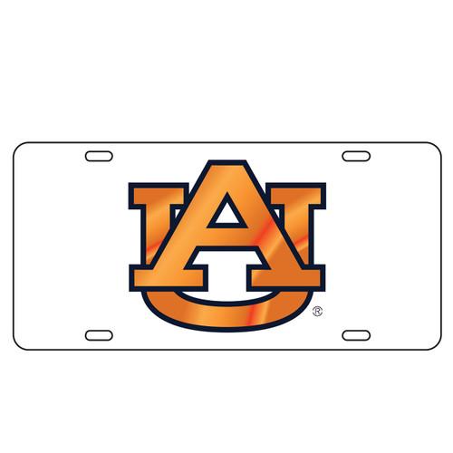 Auburn Tigers TAG (LASER WHT/BLU/ORG AU (12045))