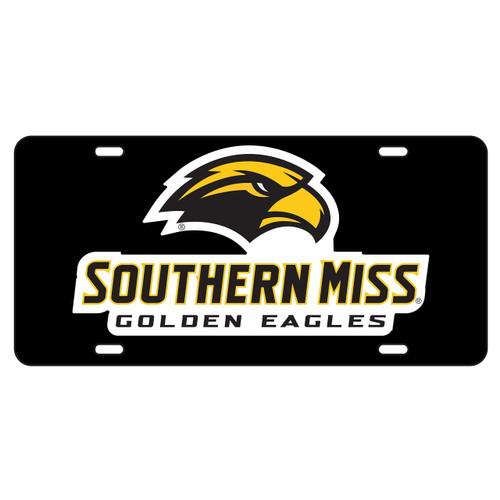 Southern Mississippi Tag (BLK/REF GLD USM TAG (11806))