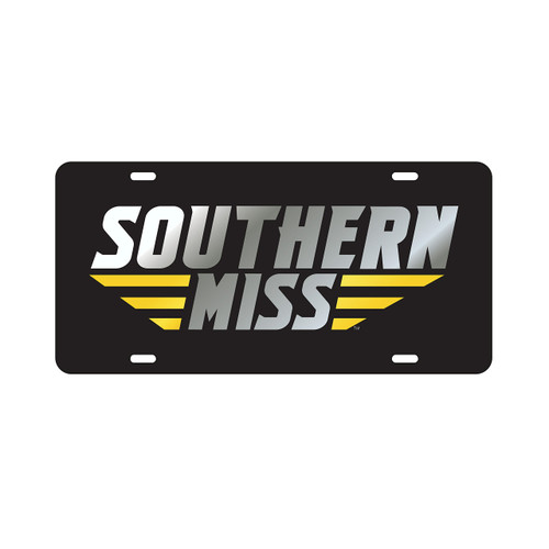 Southern Mississippi Tag (LASER BLK/SIL SOUTHERN MISS (11800))