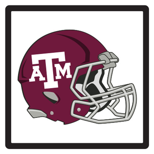 Texas A&M HitchCover (DOMED T A&M HELMET HITCH (10252))