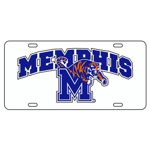 Memphis Tag (WHT/REF MEMPHIS M TIGER TAG (22017))